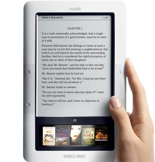 Il prossimo lettore di Barnes&Noble ?