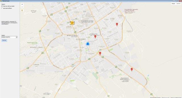 Forza vendita e geoclustering per l'analisi di presenza sul territorio