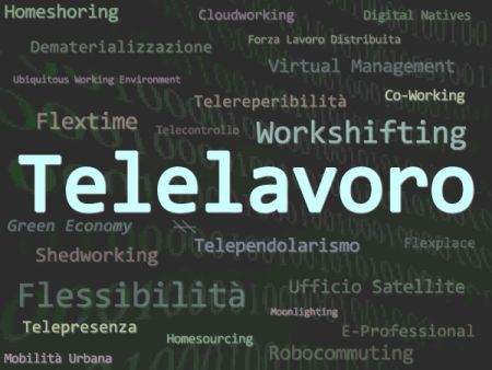 telelavoro, smart working
